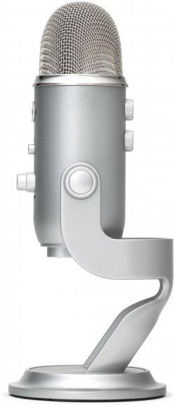 Blue Microphones Yeti -mikrofoni USB-väylään, hopea, kuva 2