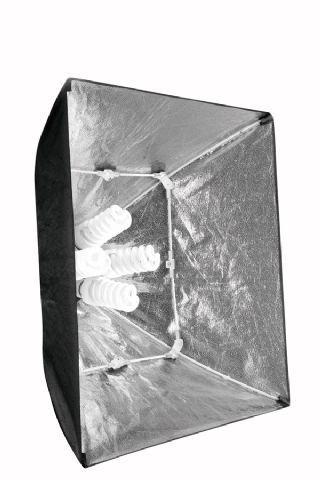 Falcon Eyes LH-ESB6060K 8x40W valaisukitti päivänvalolampuilla, kuva 3