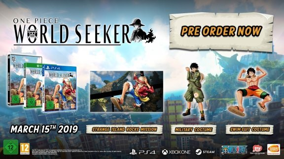 One Piece World Seeker -peli, Xbox One, kuva 2