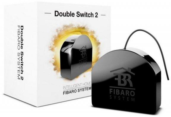 Fibaro FGS-223 -kytkentärele Z-Wave-järjestelmiin, 2 x 6.5 A