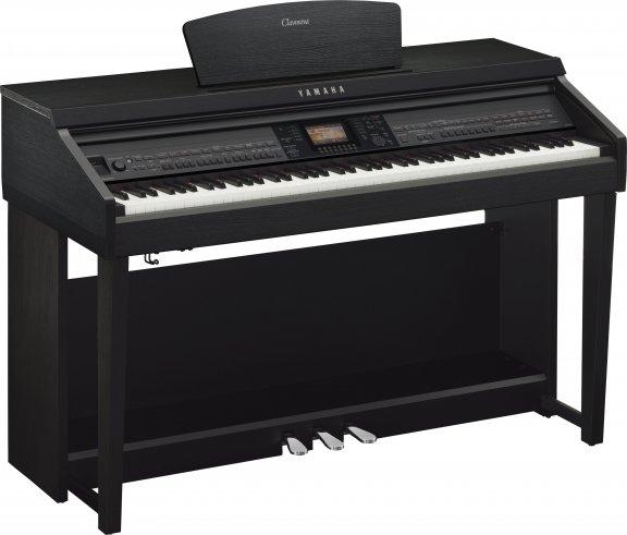 Yamaha CVP-701 Clavinova -digitaalipiano, musta