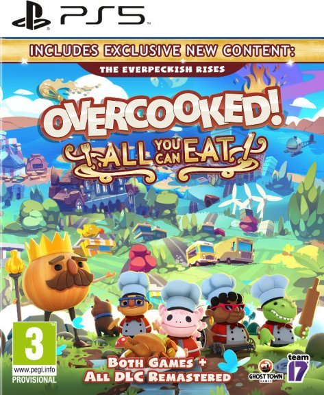 Overcooked: All You Can Eat -peli, PS5