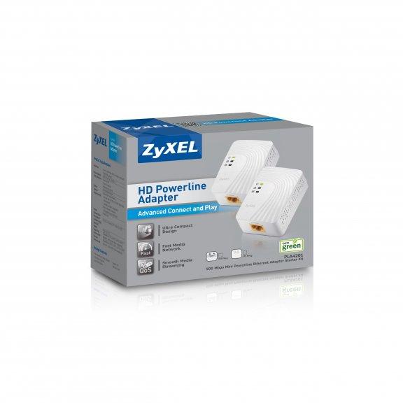 ZyXEL PLA-4201 Powerline-adapteri, 2 kpl, kuva 4