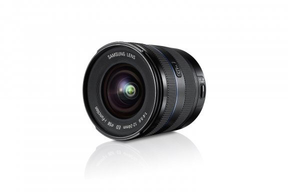 Samsung EX-W1224ANB 12-24 mm f/4.5-5.6 laajakulmaobjektiivi