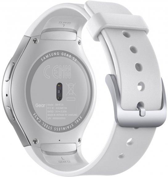 Samsung Gear S2 -Tizen-älykello, valkoinen, kuva 4