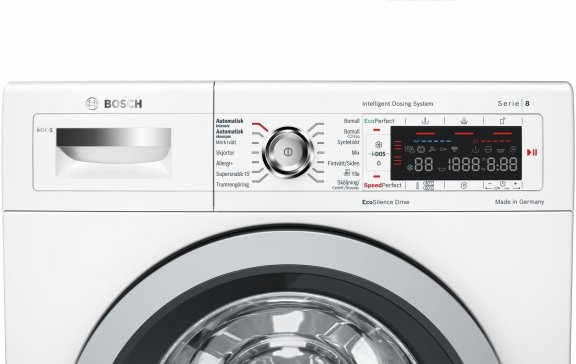 Bosch WAWH26B9SN Serie 8 -pyykinpesukone, valkoinen, kuva 2