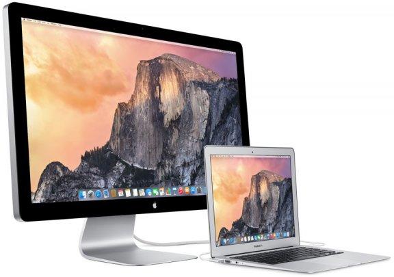 "Apple Thunderbolt Display 27"" LCD-näyttö, MC914, kuva 5"