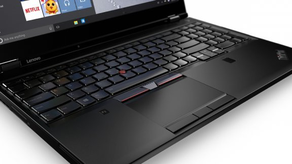 """Lenovo ThinkPad P50 15,6"""" -kannettava, Win 7 Pro, kuva 4"""