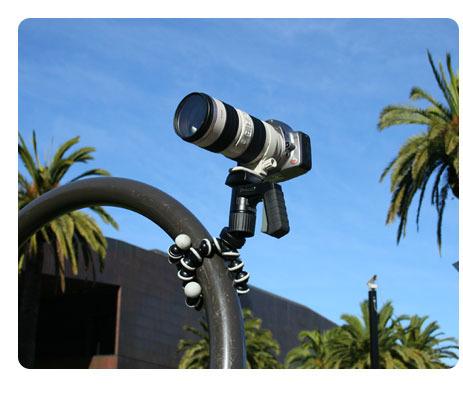 Gorillapod SLR Zoom (GP3) - taipuva kamerajalusta järjestelmäkameroille, kuva 5