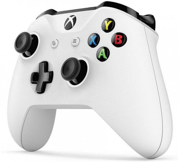 Microsoft langaton Xbox-ohjain, valkoinen