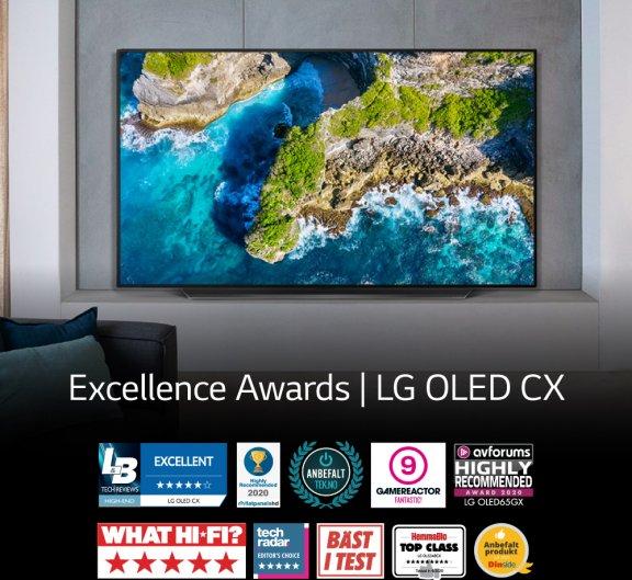 "LG OLED65CX 65"" 4K Ultra HD OLED -televisio, kuva 14"