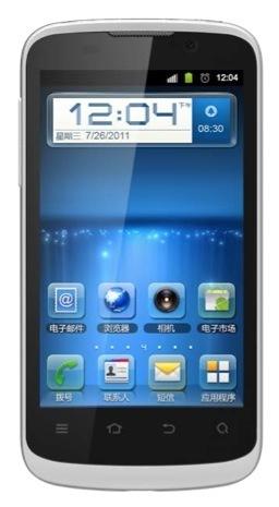ZTE Blade III Android-puhelin, valkoinen