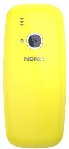 Nokia 3310 -peruspuhelin Dual-SIM, keltainen, kuva 4