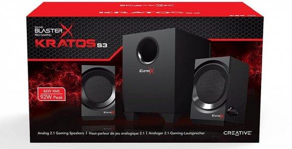 Creative Sound BlasterX Kratos S3 -2.1 kaiuttimet, kuva 3