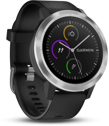 Garmin vivoactive 3 -GPS-älykello, musta, kuva 3