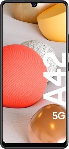 Samsung Galaxy A42 5G-Android-puhelin 128 Gt Dual-SIM, musta, kuva 2