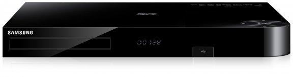 Samsung BD-F8500N 3D Blu-ray soitin ja 500 GB yhdistelmäboksi