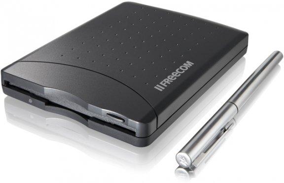 "Freecom Floppy Disk Drive USB-liitäntäinen levyasema 3,5"" levyille"