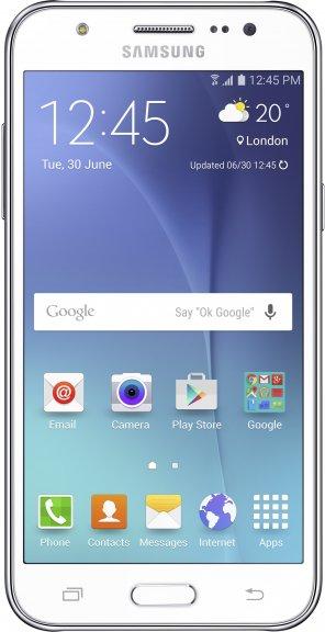Samsung Galaxy J5 -Android-puhelin, valkoinen, kuva 4