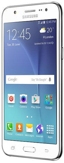 Samsung Galaxy J5 -Android-puhelin, valkoinen, kuva 5