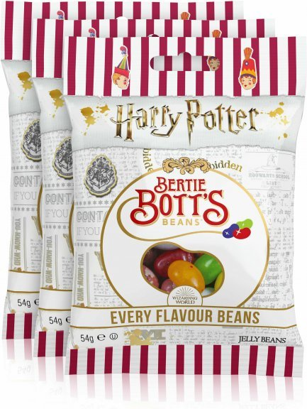 Harry Potter Bertie Bott's Every Flavor Beans -makeispussi, 54 g, 3-PACK