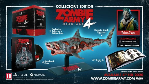 Zombie Army 4: Dead War - Collector's Edition -peli, PS4