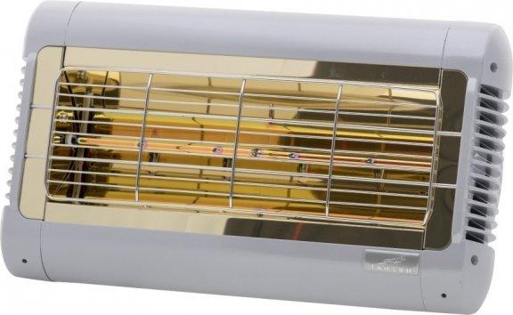 Tansun Monaco -terassilämmitin, 1,5 kW, hopea