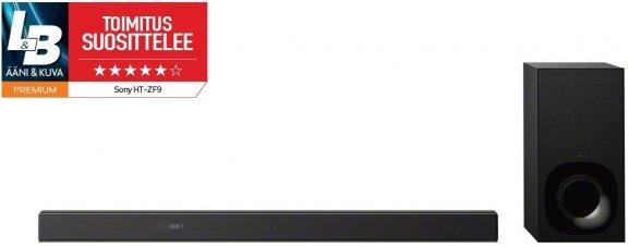 Sony HT-ZF9 3.1 Dolby Atmos Soundbar -äänijärjestelmä langattomalla bassokaiuttimella, kuva 2
