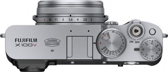 Fujifilm X100V -digikamera, hopea, kuva 4