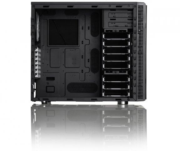 Fractal Design Define R4 Black Pearl - ATX-kotelo ilman virtalähdettä, väri musta, kuva 7
