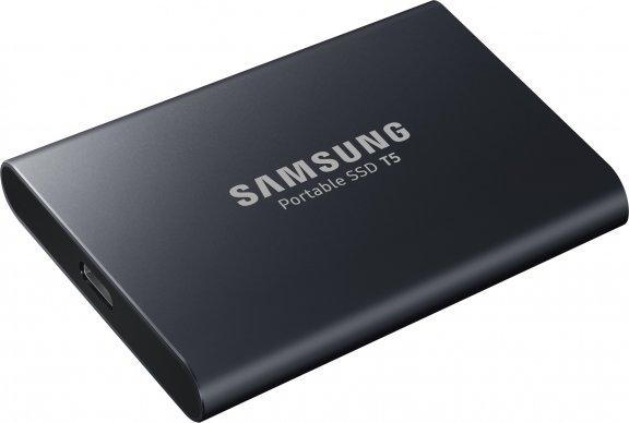 Samsung SSD T5 ulkoinen SSD-levy 1 Tt, musta