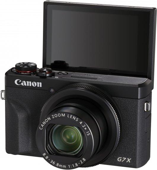 Canon PowerShot G7 X Mark III -digikamera, musta, kuva 2