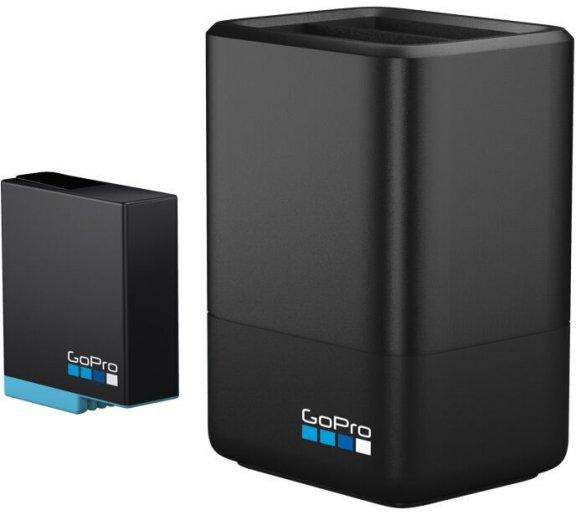 GoPro Dual Battery Charger + lisäakku