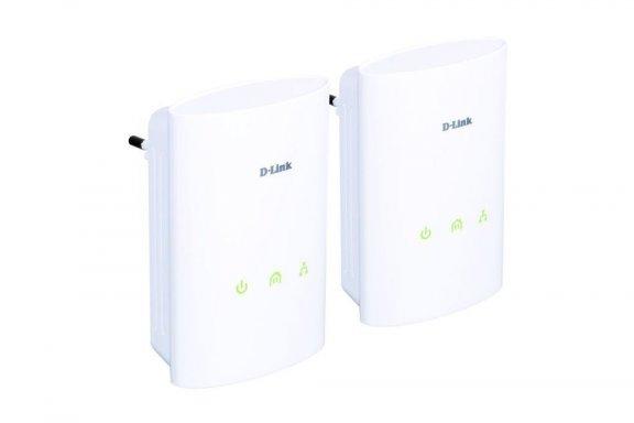 D-Link DHP-307AV Powerline AV Kit ethernet-adapterit sähköverkkoon, 2kpl