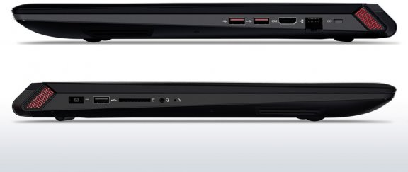 """Lenovo Y700 17,3"""" -kannettava, Win 10 64-bit, musta, kuva 5"""