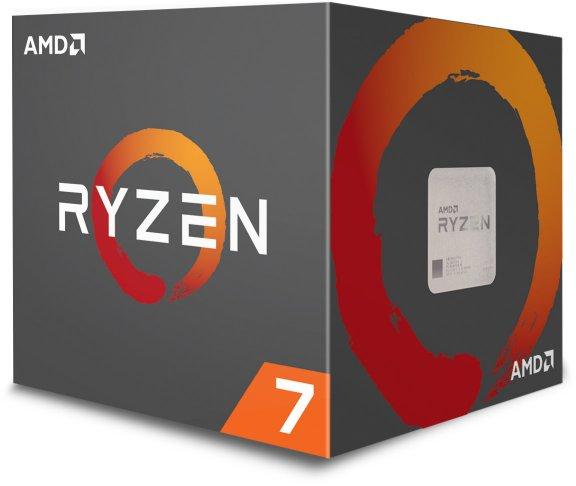 AMD Ryzen 7 2700X -prosessori AM4 -kantaan, kuva 2