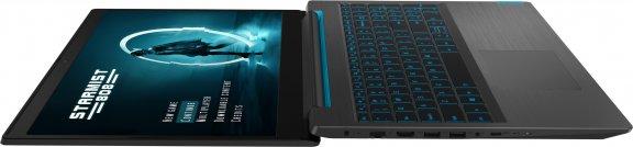 """Lenovo Ideapad L340 Gaming 15,6"""" -pelikannettava, Win 10 64-bit, musta, kuva 7"""