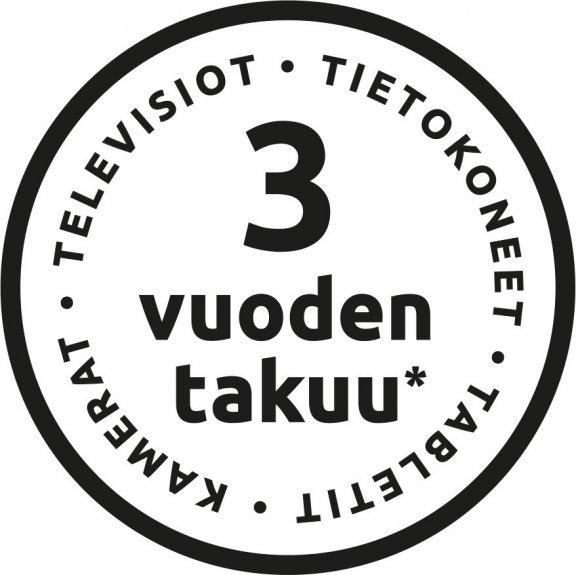 Kolmen vuoden takuu televisioille, tietokoneille, kameroille ja tableteille