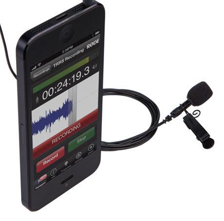 Rode microphones smartLAV+ -lavalier-mikrofoni älypuhelimille, kuva 2