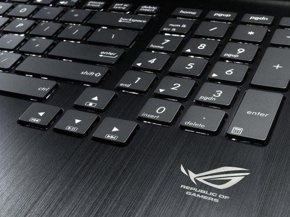 """Asus G750JW 17.3"""" FHD/i7-4700HQ/GTX 765M/8GB/750GB/Windows 8 64-bit -kannettava tietokone, kuva 8"""