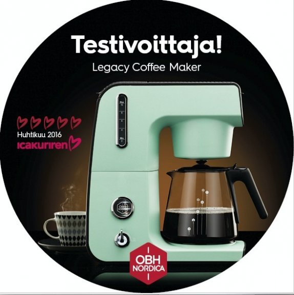 OBH Nordica 2401 Legacy -kahvinkeitin ef981bac73