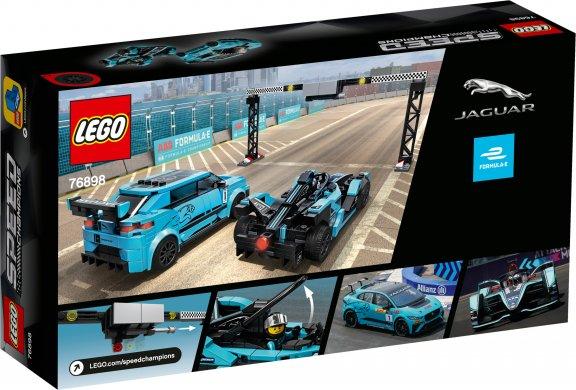 LEGO Speed Champions 76898 - Formula E Panasonic Jaguar Racing GEN2 car & Jaguar I-PACE eTROPHY, kuva 2