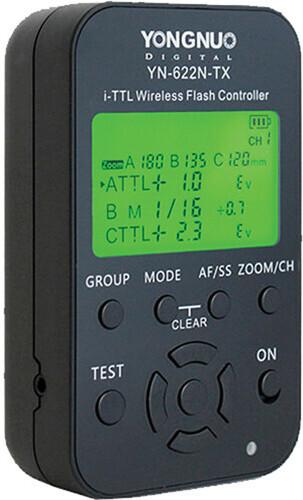 YongNuo YN-622 N-TX i-TTL radiolaukaisin, Nikon