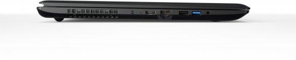 """Lenovo Ideapad 110 17,3"""" -kannettava, Win 10 64-bit, musta, kuva 6"""