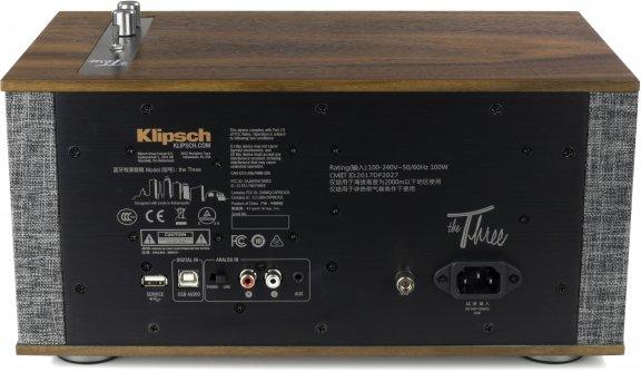 Klipsch The Three II -Bluetooth-kaiutin, pähkinä, kuva 2
