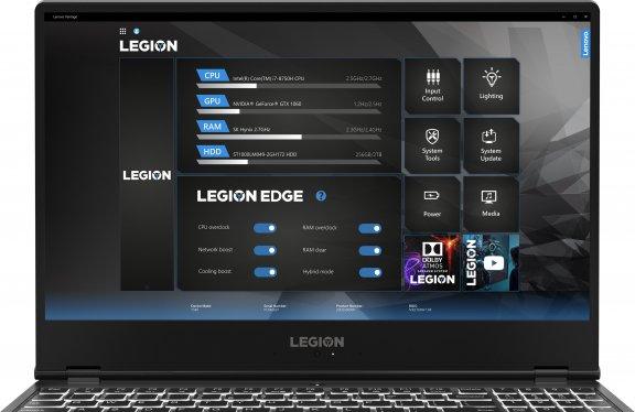 """Lenovo Legion Y540 15,6"""" -pelikannettava, Win 10 64-bit, musta, kuva 4"""