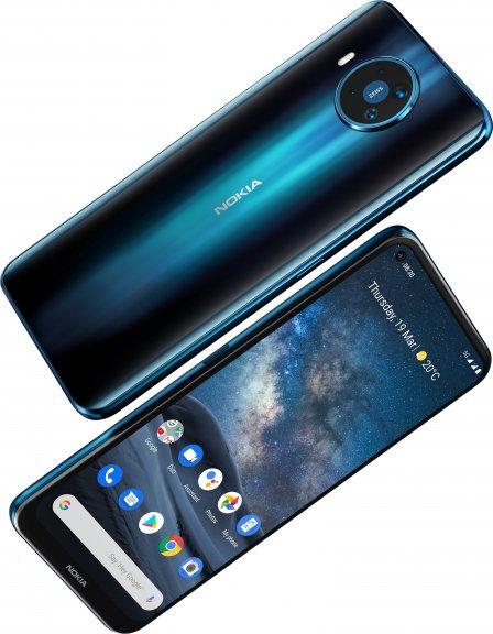 Nokia 8.3 5G -Android-puhelin Dual-SIM, 128 Gt, sininen, kuva 2