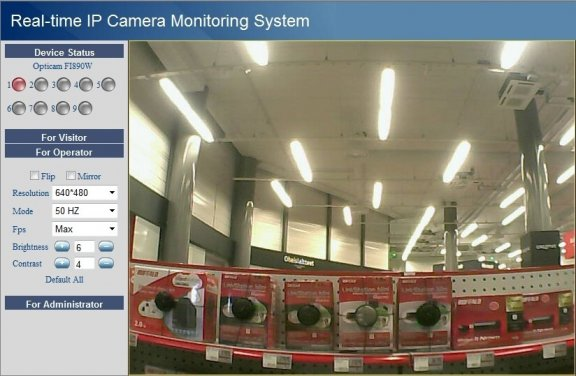 Opticam Indoor FI8909W -IP-kamera, kuva 3
