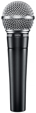 Shure SM58 - dynaaminen mikrofoni