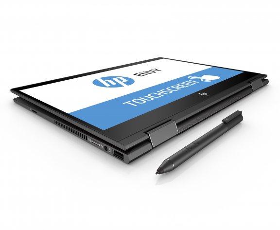 """HP Envy x360 13-ag0001no 13,3"""" -kannettava, Win 10, Tuhkanhopea, kuva 4"""